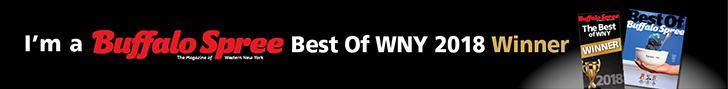 I'm a Buffalo Spree Best of WNY 2018 Winner